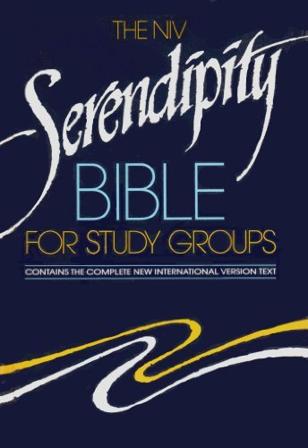 The NIV Serendipity Bible for Study Groups: Contains the Complete New International Version - Grand Shopping Rapids Michigan