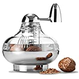 TAMUME Nutmeg Grinder with Stainless Steel Blades for Fresh Nutmeg Topping for Dishes Nutmeg Grater and Spice Mill