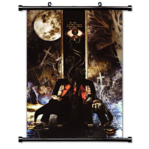 Hellsing Anime Fabric Wall Scroll Poster (32