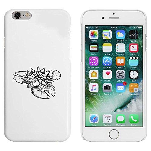 Blanc 'Nénuphar' étui / housse pour iPhone 6 & 6s (MC00001094)
