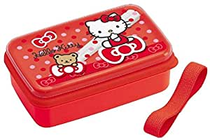 Cat Bear & Ribbon Lunch Bento Box W/ Chopsticks