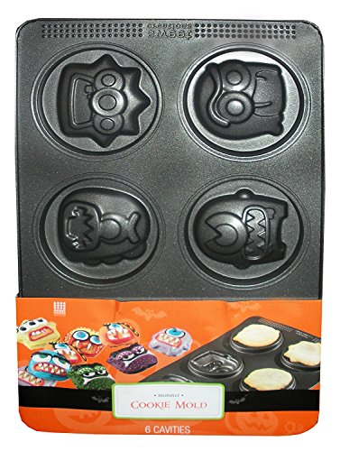 Monster Cookie Mold - 6 Cavities -