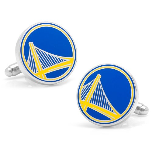 Golden State Warriors Cufflinks Novelty 1 x 1in by NBA