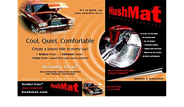 2008- Present Challenger - Roof Hushmat 666085 Sound and Thermal Insulation Kit