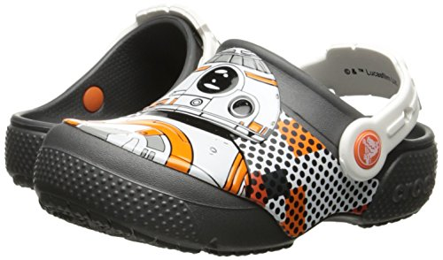 Pictures of Crocs Kids' Fun Lab Star Wars BB-8 Clog Graphite 4