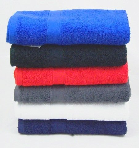 The House Of Emily 500GSM 100 Percent Turkish Cotton Bath Sheet / Beach Towel 60 x 80 inch Jumbo Size Royal Blue