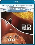 Galactic Adventures Double Feature (3D Sun / 3D Mars) [Blu-ray 3D + Blu-ray]