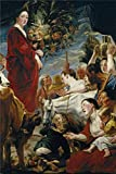 The Polyster Canvas Of Oil Painting 'Jordaens Jacob Offering To Ceres Ca. 1619 ' ,size: 8 X 12 Inch / 20 X 30 Cm ,this Reproductions Art Decorative Canvas Prints Is Fit For Nursery Gallery Art And Home Decor And Gifts