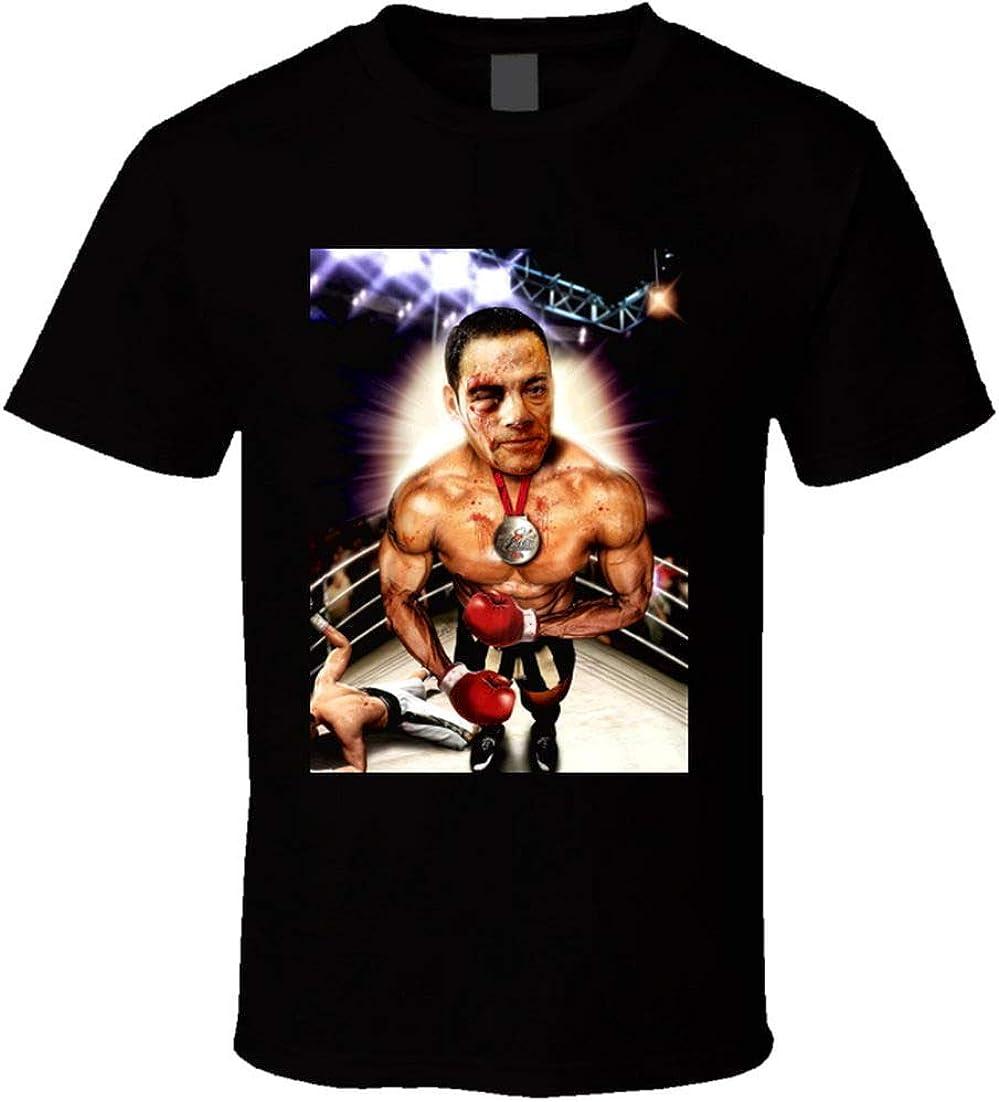 Jean-Claude Van Damme Kick Boxer Artes Marciales Acción estrella Bloodsport Knock Out Boxer camiseta