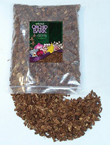 Rexius Douglas Fir Bark for Orchids - Small Chip Size - 1 Gallon - Orchid Fir Bark