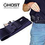 Ghost Concealment Belly Band Holster for Concealed Carry | IWB Gun Holsters | Right Handed Men and Women