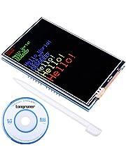 Longruner Arduino Mega 2560 Board Module para Arduino UNO R3 Pantalla TFT de 3.5 pulgadas con zócalo de tarjeta SD Todos los datos técnicos en el CD LSC3A-1