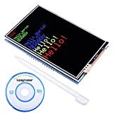 For Arduino MEGA 2560 Board Module, Longruner UNO R3 3.5''TFT Shield Touch Display Screen with SD Card Socket w/ a Touch pen and Tutorials in CD LSC3A-1 (Touch Display Screen)