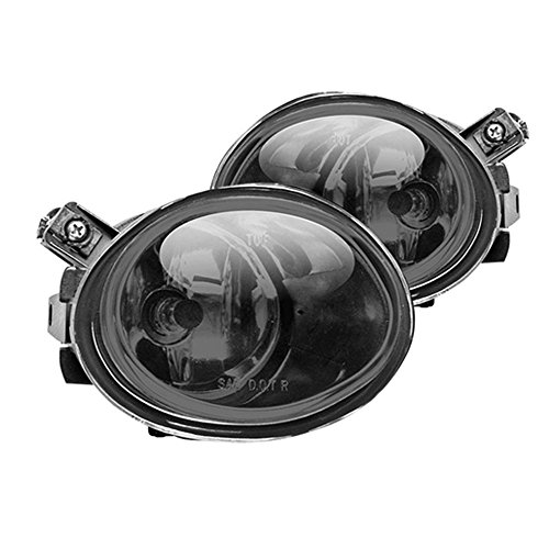 (Winjet WJ30-0081-11 OEM Series for BMW [2001-2006 E46 M3] [2000-2003 E39 M5] [2003-2005 330i/330Ci] Smoke Lens Driving Fog Lights)