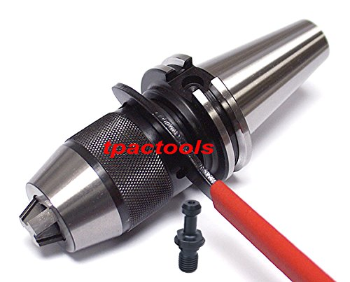 Intergrated CAT40 Keyless Drill Chuck for HAAS or Mazak CNC