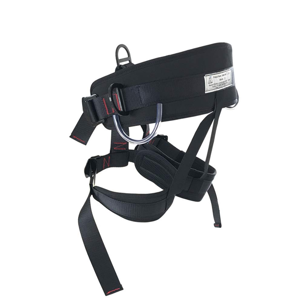 Mountain seat Belt seat Belt for fire Rescue, high Altitude Rock Climbing, Downhill Equipment, Half Body Guard by HENRYY (Image #2)