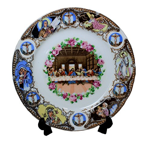 PANDA HOUSE Last Supper Plate ()
