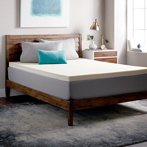 Select Luxury Restore-a-Mattress 3-inch Memory Foam Mattress Topper White King by Select Luxury