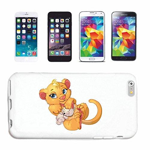 """cas de téléphone iPhone 7+ Plus """"PETIT LION BÉBÉ AVEC DOLL LION LION LION WILD ANIMAL LION BIG CAT KING OF PREY ANIMAL SAUVAGE TIGER FAUNE DU PARC NATIONAL PARK SIMBA"""" Hard Case Cover Téléphone Covers"""