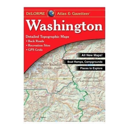 DeLorme Washington Atlas