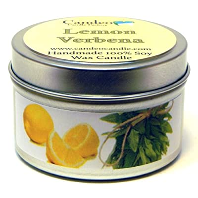 Lemon Verbena, Super Scented Soy Candle Tin