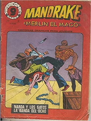 Supercomic Garbo numero 08: Mandrake el mago Comics – 1980