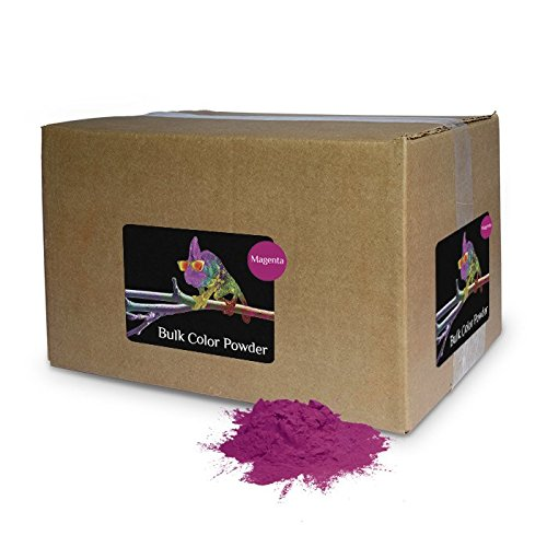 Color Powder Magenta 25lb Box by Chameleon Colors