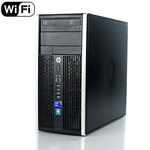 HP Pro 6200 Mini Tower Business High Performance Desktop Computer PC (Intel Core i3-2100 3.1GB Dual Core,6GB RAM DDR3,500GB HDD,DVD-ROM,Wi-Fi,Windows 10 Home 64)(Certified Refurbished)