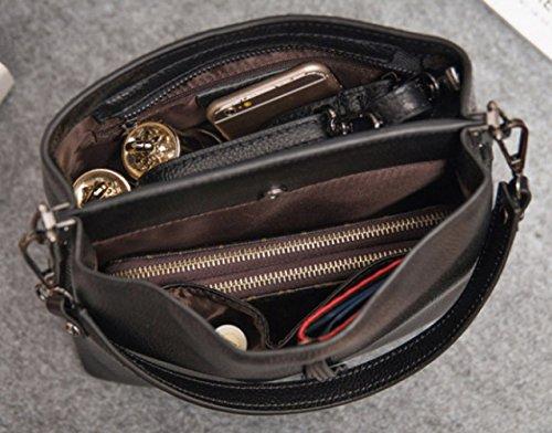Spalla Tote A Capacità Delle Donne Grande Bag Casual Borse Retrò Women's Xzw Winered qTwIpf4f
