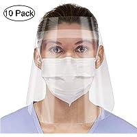 10 Packs Protector Facial de Seguridad, Viseras