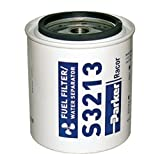 fuel filter racor - Parker Racor Replacement Fuel Filter Element (Fits/Model: B32013 Application: Outboard Fuel: Gasoline)