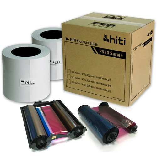 HiTi Digital Inc. HiTi P510 4x6 Ribbon & Paper Case, for sale  Delivered anywhere in USA
