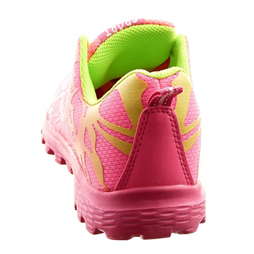 Sopily - Scarpe da Moda Sneaker alla caviglia donna camouflage Tacco a blocco 2.5 CM - Rosso