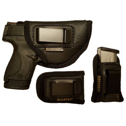 Combo Concealment Holster + 2 Magazine and Multi Use Pouch fits Glock 26/27/33, Shield, XDS,Beretta Nano, SCCY Sky, Ruger LC9 (Right) (CHP-57A+2CHMP4-RH)