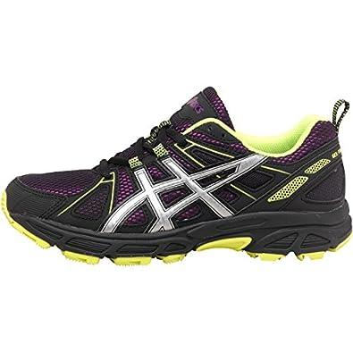 Asics Womens Gel Trail Tambora 4 Trail Running Shoes Purple