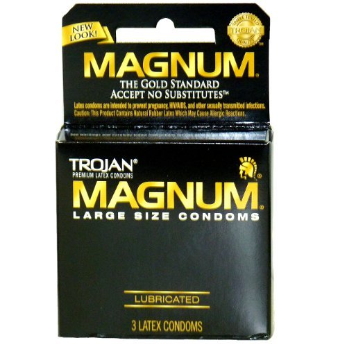 Trojan Magnum Lubed Size 3 Ct Trojan Magnum Large Sized Lubricated Condoms 3ct