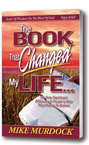 The Book That Changed My Life by [Murdock, Mike]
