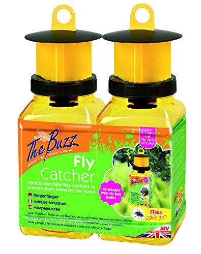 STV International The Buzz Fly Catcher (Super Effective, Refillable Insect...