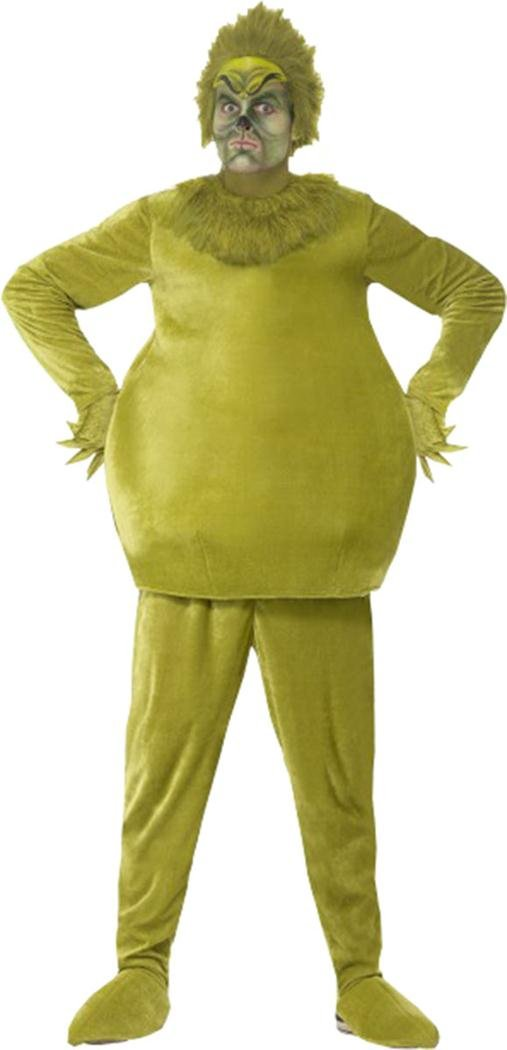 The Grinch Costume Green Chest 42''-44'' Leg Inseam 33''