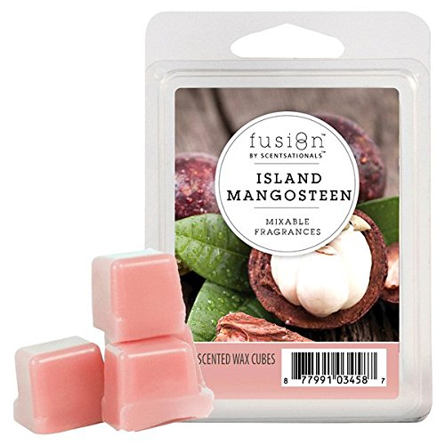 Sugared Passion Fruit (Fusion by ScentSationals Wax Cube Island Mangosteen, 2 oz.)