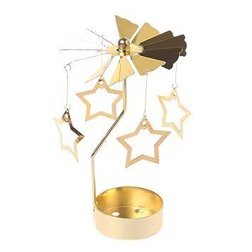 Xurgm Sterne Metall Gold Kerzenhalter Für Kegel Kerzen Eisen Dünne Metall  Moderne Tisch Dekorative Herzstück Elegante