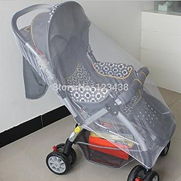 Amazon.com: Bebé grande carrito carriola mosquitero Buggy ...