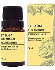 Óleo Essencial de Limão Siciliano 10 ml, By Samia, Multicor