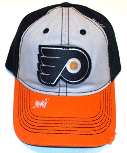 Philadelphia Flyers DIstressed Slouch Flex CCM Hat - L/XL - EU88Z ()