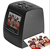 Film Scanner / Converter Ultra High-Resolution 5MP / 10MP 35mm Negative Film and Slide Scanner, 2.3'' TFT LCD Display, Support SD Card
