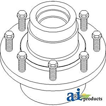 51LZWl6YwAL._SX342_ amazon com ah173846 hub assembly, rear axle spindle service kit fit