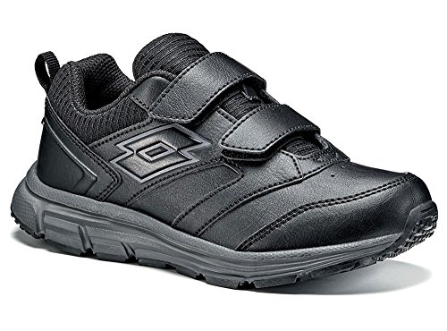 Lotto - Zapatillas de tenis para niño Schwarz (BLACK/TITAN GRAVITY)