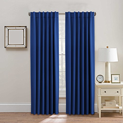 HVersailtex Thermal Insulated Blackout Curtains Back