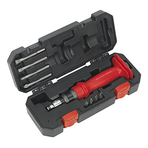 Sealey Impact Driver Set 10pc Heavy-Duty Protection Grip