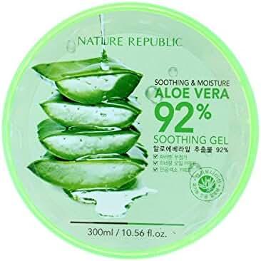 Natural Republic Aloe Vera Gel, 300ml, 10.56 Fluid Ounce